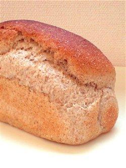 画像1: 有機ライ麦全粒の山型食パン